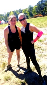 First time OCR..and addicted now! Christina and Shannon.